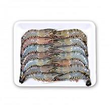 全球鲜 冷冻马来西亚野生老虎虾 430g 11-14只 袋装