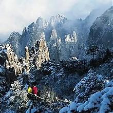 黄山赏雪:上海-黄山3日 半自由行(1晚山上酒店)498元